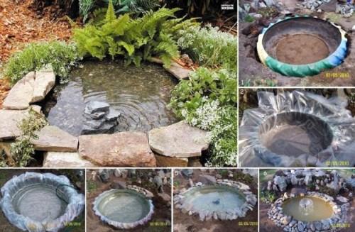 Сделать небольшой бассейн своими руками