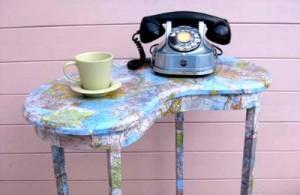 Декупаж кофейного столика