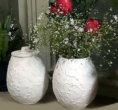 Цветочная ваза из папье маше своими руками