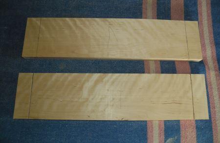Разметка деревянных заготовок