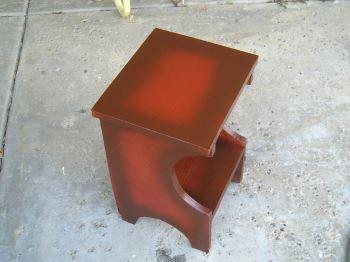 Как сделать тумбу из гофрированного картона
