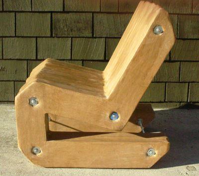 Самодельное кресло из картона