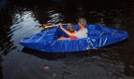 Лодка из ПВХ