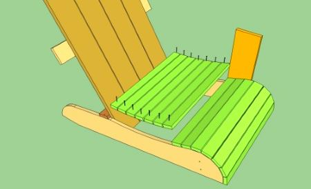 Деревянное сиденье