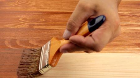 Финишная отделка древесины