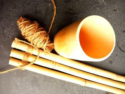 Детали из бамбука