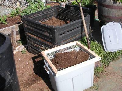 Просеиваем компост
