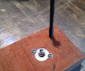 Ось ролика конус для токарки