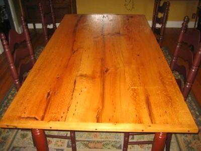 Как обновить покраску стола