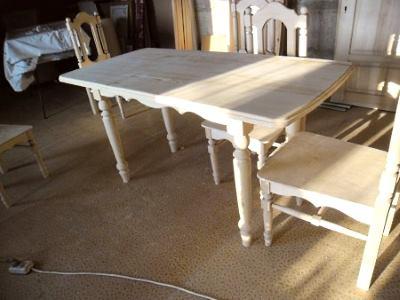 Самодельный раздвижной стол
