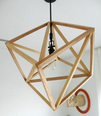 Геометрический светильник