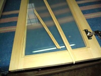 Раскладки с наплавом для стекла