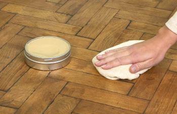 Восковая паста для пола