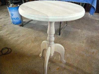 Как сделать круглый столик