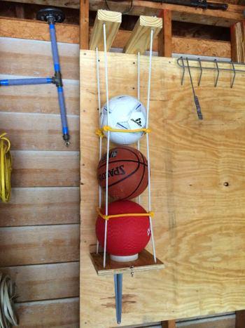 Подвесная сетка для мячей