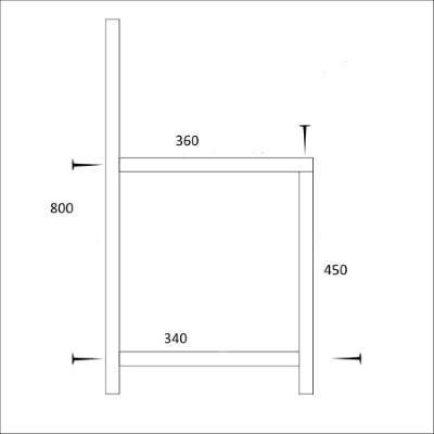 Размеры стула