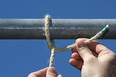 Обернуть веревку вокруг