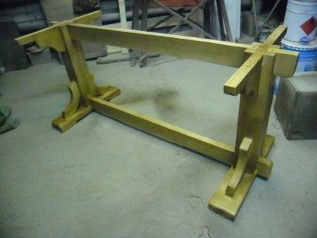 Основание стола из массива