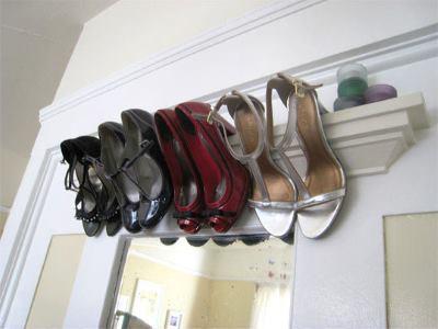 Подвесная обувница
