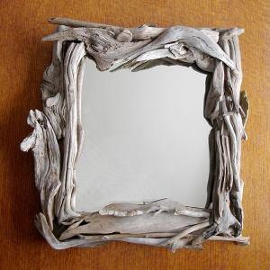 Украсить рамку зеркала