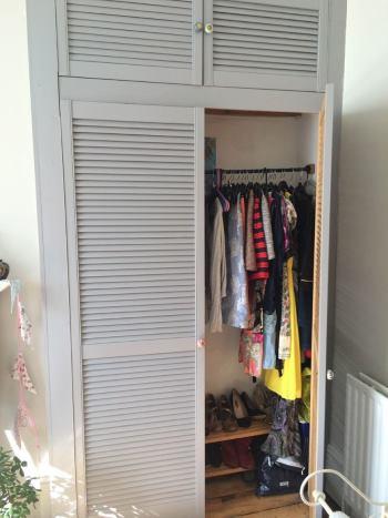 Переделать встроенный шкаф
