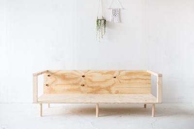 Конструкция диванчика