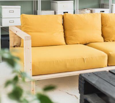 Сделать простой диван