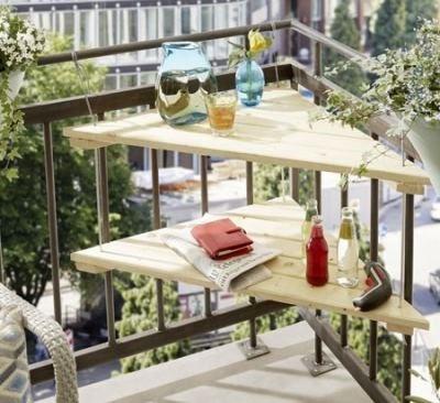 Сделать полки на балконе