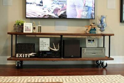 Как сделать консоль под телевизор