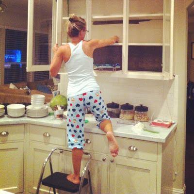 Шкафчики на кухне