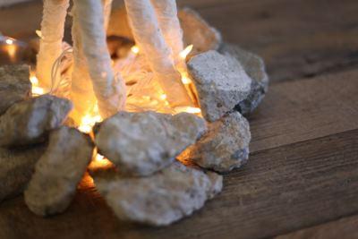 Декоративный костер без пламени