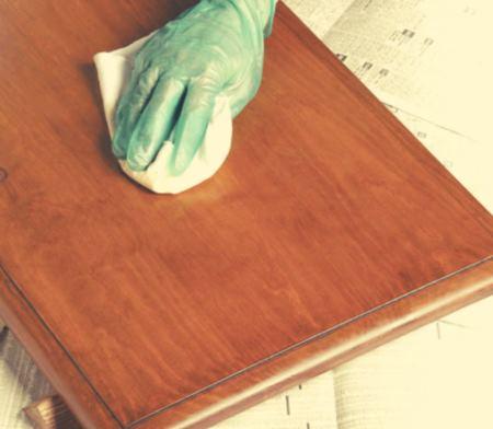 Финишная отделка деревянных изделий