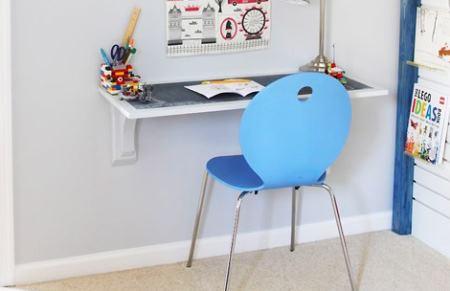 Как сделать консольный стол для школьника