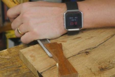 Убрать излишки древесины