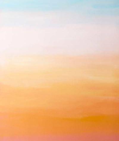 Как нарисовать закат на стене