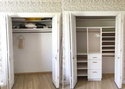 Как перестроить встроенный шкаф