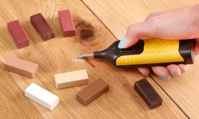 Как убрать вмятины на древесине