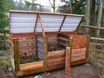 Как оборудовать место для компоста