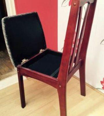 Ящик в стуле