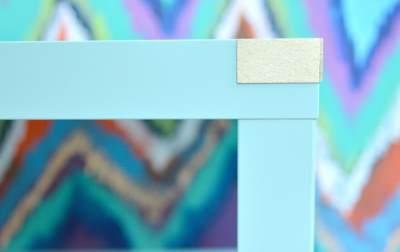 Как покрасить простой журнальный столик