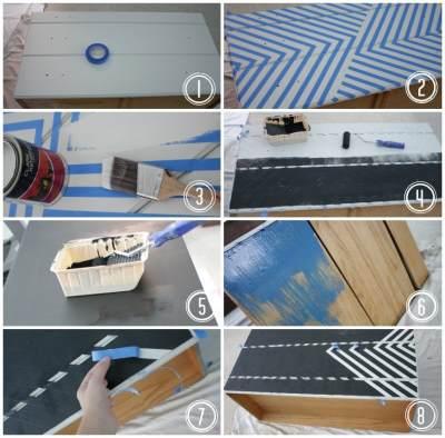 Перекрасить мебель