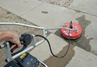 Как отмыть кирпич и бетон