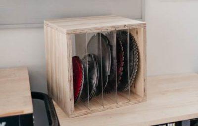 Ящик для дисковых пил
