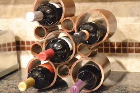 Оригинальные винные стеллажи
