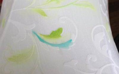 Нанесение краски на ткань