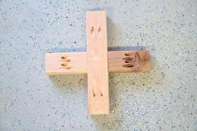 Сборка крестовины