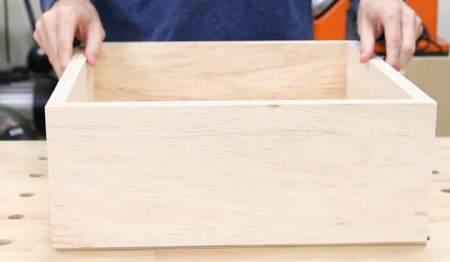 Мебельный ящик из фанеры