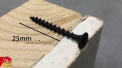 Длина шурупа