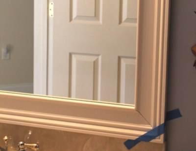 Как оформить зеркало